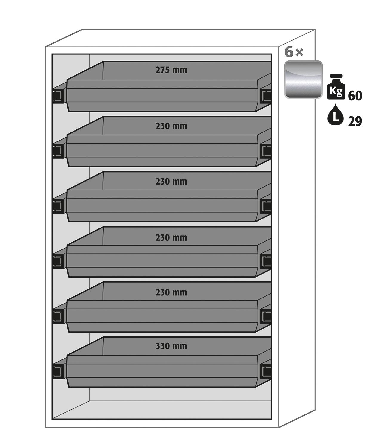 Safety Storage Cabinet S90 196 120 Fdas